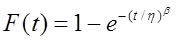 formula weibull formula weibull