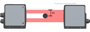 micrômetro laser PO micr  metro laser PO 300x108