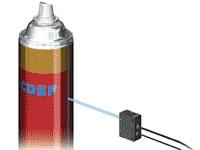 sensor de cor união aerossol