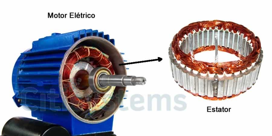 motor elétrico estator motor eletrico estator