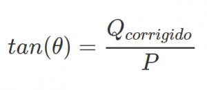 fórmula tangente aplicada fator de potencia formula tangente aplicada