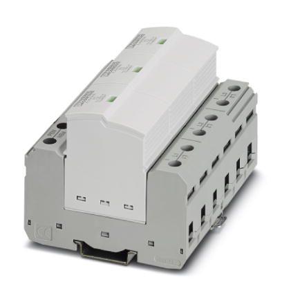 Protetor-de-Surto-Tipo-I-3-Fases-TN-C--IT-Phoenix-Contact-2905988.jpg Protetor de Surto Tipo I 3 Fases TN C IT Phoenix Contact 2905988