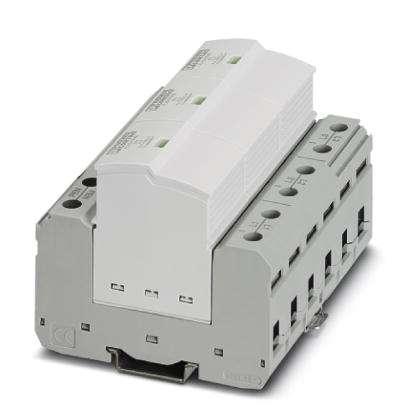 Protetor-de-Surto-Tipo-I-3-Fases-TN-C-Phoenix-Contact-2907390.jpg Protetor de Surto Tipo I 3 Fases TN C Phoenix Contact 2907390