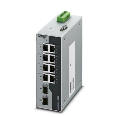 Switch-Industrial-Gerenciável-FL-SWITCH-4008T-2SFP-Phoenix-Contact-2891062.jpg Switch Industrial Gerenci  vel FL SWITCH 4008T 2SFP Phoenix Contact 2891062