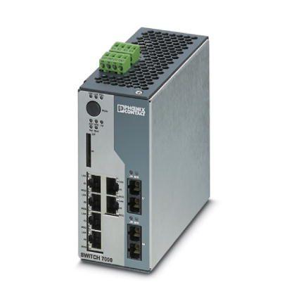 Switch-Industrial-Gerenciável-FL-SWITCH-7006-2FX-EIP-Phoenix-Contact-2701419.jpg Switch Industrial Gerenci  vel FL SWITCH 7006 2FX EIP Phoenix Contact 2701419