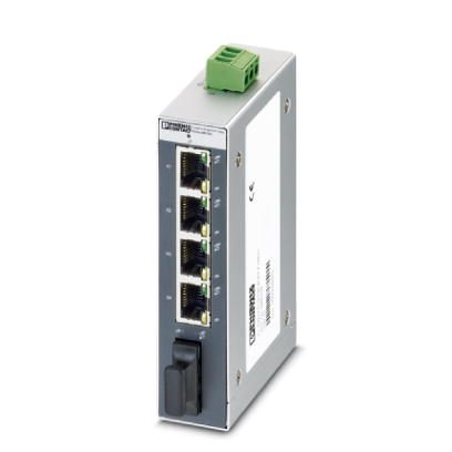 Switch-Industrial-Não-Gerenciável-FL-SWITCH-SFNB-4TX-FX-SM20-Phoenix-Contact-2891029.jpg Switch Industrial N  o Gerenci  vel FL SWITCH SFNB 4TX FX SM20 Phoenix Contact 2891029