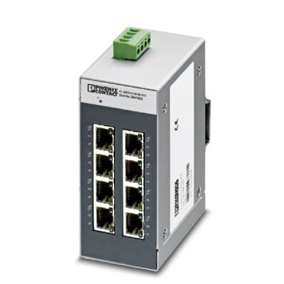 Switch-Industrial-Não-Gerenciável-FL-SWITCH-SFNB-8TX-Phoenix-Contact-2891002.jpg Switch Industrial N  o Gerenci  vel FL SWITCH SFNB 8TX Phoenix Contact 2891002