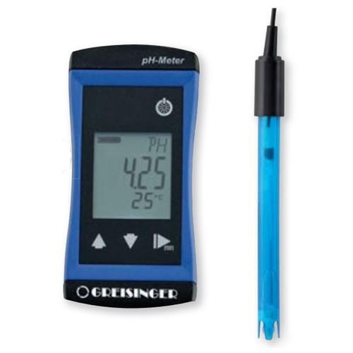 Phmetro Phmetro medidor de Ph e Temperatura G1500 com eletrodo GE 114 WD eletrodo n  o mede temperatura