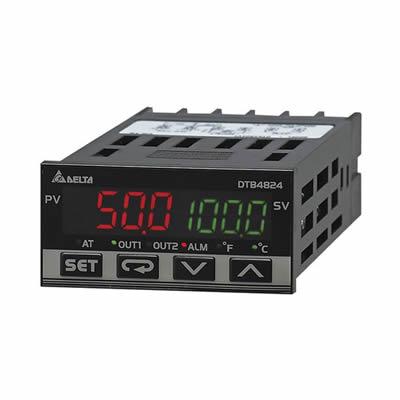Controlador de Temperatura Delta DTB4824VV Controlador de Temperatura Delta DTB48 24Controlador de Temperatura Delta DTB48 24 Controlador de Temperatura Delta DTB4824CR