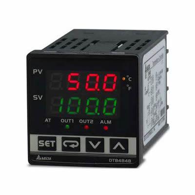 Controlador de Temperatura Delta DTB4848VV-D Controlador de Temperatura Delta DTB48 48Controlador de Temperatura Delta DTB48 48 Controlador de Temperatura Delta DTB4848CR