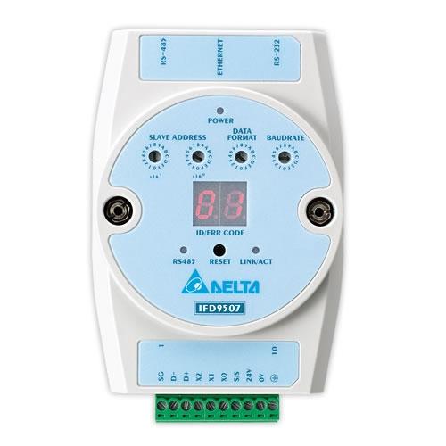 Conversor de Rede Delta de Ethernet/IP para Modbus-IFD9507