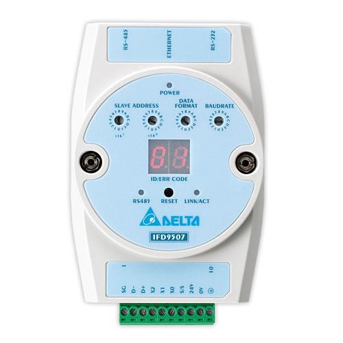 Conversor de Rede Conversor de Rede Delta de Ethernet IP para Modbus IFD9507