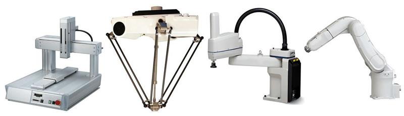 robôs industriais robos industriais