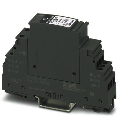 Protetor de Surto Tipo III 1 Fase TN-S (PE e N Separ) Phoenix Contact-2910540.jpg Protetor de Surto Tipo III 1 Fase TN S PE e N Separ Phoenix Contact 2910540