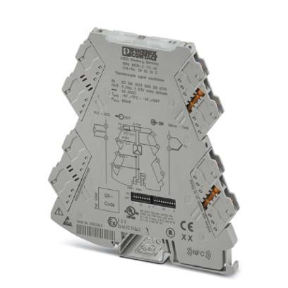 Transdutor de Temperatura MINI MCR-2-TC-UI Conexão Parafuso Phoenix Contact - 2902055